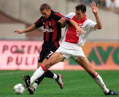 Andriy #Shevchenko & Zlatan #Ibrahimovic  #ACMilan #Ajax by retro_football_photo