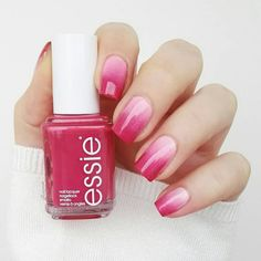 Hello 'Mrs. RIght' -- love this gorgeous ombre look from the essie Bridal Collection.