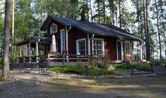 Villa Raita, Varpasalo, Rääkkylä Villa, Cabin, House Styles, Home Decor, Decoration Home, Room Decor, Cabins, Cottage, Home Interior Design