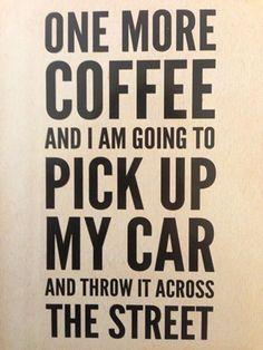 Coffee Super Powers ;)