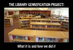 You searched for label/Library Genrefication Project - Mrs. Library Skills, Library Lessons, Library Books, Library Ideas, Library Posters, Library Inspiration, Middle School Libraries, Elementary Library, Foyers