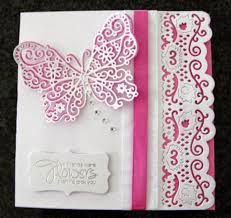 I just love the Tattered Lace butterfly die which was free with the special Create & Craft Tattered Lace Magazine. Crafters Companion Cards, Tattered Lace Cards, Embossed Cards, Scrapbook Cards, Scrapbooking Ideas, Create And Craft, Cardmaking, Birthday Cards, Projects To Try