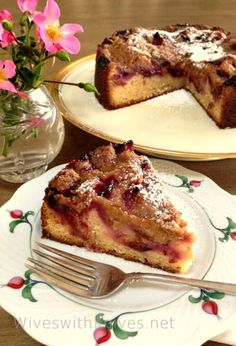 I associate certain foods with specific times of year and prune kuchen meansFall is here . Italian prune plums usually show up in the farmer's market in mid-September and I always buy a big bag of them for several of my favorite recipes. For years I made the same recipe, Prune Kuchen with Cream and [Read More]