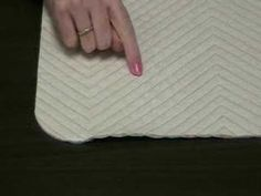 Sew Easy Chenille. I LOVE this technique for making your own chenille. Use it for blankets/quilts, clothing, pillows... almost anything! I saw a woman doing this at Silver Dollar City and fell in love!