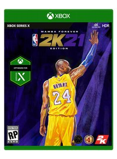 Physical copies of NBA 2K21 Mamba Forever Edition for Xbox Series X will include a digital copy of NBA 2K21 Standard for Xbox One in box.   NBA 2K21 is the latest release in the world-renowned, best-selling NBA 2K series. 2K21 leads the charge with next-gen innovations, while continuing to deliver an industry-leading sports video game experience on the current generation of gaming platforms.  With best-in-class graphics and gameplay, competitive and community online features, and deep, varied Damian Lillard, Kobe Bryant, Playstation, Ultra Hd 4k, Current Generation, Dream Fantasy, Basketball Games, Forever, Xbox One