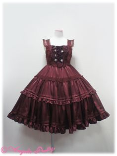 Angelic Pretty Secret Mansion JSK /// ¥27,090 /// Bust: 86~110 cm Waist: 70~92 cm Length: 90 cm