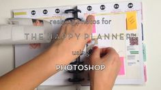 Hi, everyone! This is a tutorial video I created explaining the steps you could take in PHOTOSHOP to resize your photos and images for your Happy Planner™ and set multiple resized photos on a page to print.