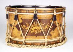 lyon & healy inlaid drum