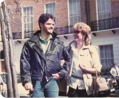 Bearded Donny and Debbie in the early 80's.