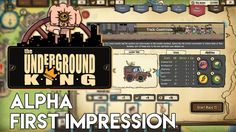 The Underground King Alpha Gameplay | Racing Resource Manager RPG