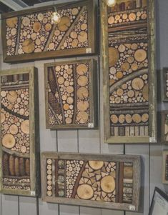 Diy Projects Small, Diy Wood Projects, Wood Crafts, Garden Projects, Art Projects, Diy Wand, Easy Woodworking Projects, Woodworking Tools, Mur Diy