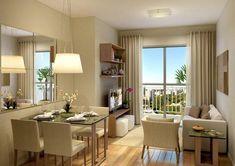 decoração cozinhas pequenas apartamento - Pesquisa Google