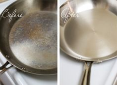 bar keepers friend - removes rust and other stains from cookware, hard water from showers and sinks and will clean almost anything metal Household Cleaning Tips, Diy Cleaning Products, Cleaning Solutions, Cleaning Hacks, Kitchen Cleaning, Kitchen Tips, Diy Products, Kitchen Dishes, Kitchen Ideas