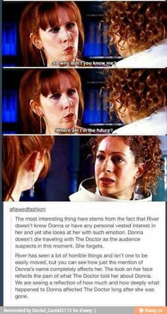 River song and donna