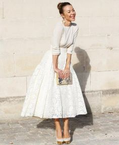 The Hottest 2015 Bridal Fashion Trend: 27 Bridal Separates Ideas - Weddingomania