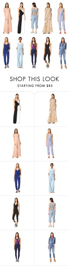 """""""jumpsuits suits the fashion to highlight"""" by camry-brynn ❤ liked on Polyvore featuring Cushnie Et Ochs, RED Valentino, Tularosa, Amanda Uprichard, BB Dakota, Free People, cupcakes and cashmere, Lucas Hugh and Etienne Marcel"""
