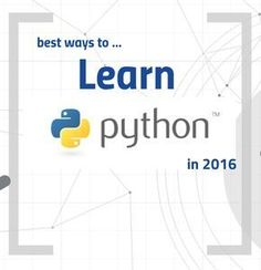 Have you recently thought about learning Python – but you didn't know how to start? Are you in doubt whether Python would be the right choice? Why not Java, or Scala, Ruby, Javascript, PHP, C# or Go? Of course there are a lot of good programming languages out there – and every single one has …