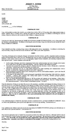 Executive Cover Letter Example CEO sending in resume for job in sales, business development with experience in start up high growth venture capital position Cover Letter Template, Cover Letter Format, Cover Letter Sample, Cover Letter For Resume, Cover Letters, Job Letter, Letter Of Intent, Best Cover Letter Examples, What Is Cover Letter