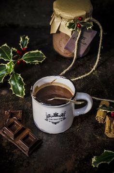 Fotogrammi di zucchero: Preparato per cioccolata calda #regali di Natale homemade