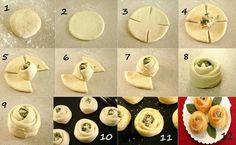Pasta hojaldre http://es.pinterest.com/maysolyluna00/canapes-y-tapas/
