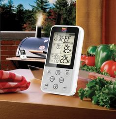 Maverick Wireless BBQ & Meat Thermometer Giveaway ~ http://steamykitchen.com