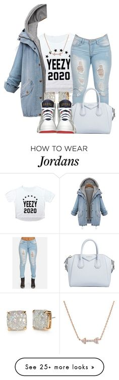 """""""Yeezy 2020"""" by angel-westt on Polyvore featuring Givenchy, Kate Spade and Retrò"""