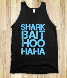 Shark Bait (Black) - Make this for Kaiya's birthday