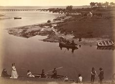 Fred Kruger (born Germany arrived Australia died) 'Coast scene, Mordialloc Creek, near Cheltenham' c. Melbourne Beach, Melbourne Victoria, Victoria Australia, Fred Kruger, Old Pictures, Old Photos, Time In Australia, Eugene Atget, Local History