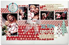 kim watson ★ paper crafts ★ designs: Colors of *Christmas* + layouts!