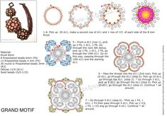 Beaded Bracelet PATTERN Mu Névtelen  scroll down