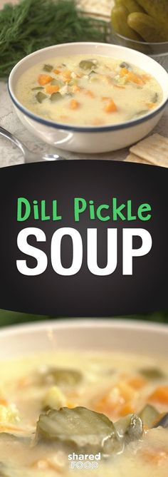 With fall coming, our family is always comforted by a nice bowl of soup to warm up. This Dill Pickle Soup has become a hit, and I keep it in regular rotation for those nights I just don't want to slave over a meal. If you like pickles, this soup is for you - with tangy pickle flavor, you won't be able to get enough! Serve alongside some crackers or baguette to make it a meal you'll want again and again!