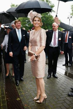 myroyals: King Willem-Alexander and Queen Maxima visited North Rhine-Westphalia May 27, 2014