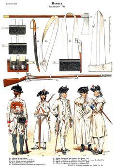 SOLDIERS- Rousselot: 1786- France: