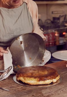 Eat IN BED: Apple Tarte Tatin with Claire Ptak of Violet Cakes — IN BED Store