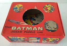 Pop Culture Safari!: Pop Artifact: Batman jig saw puzzle game
