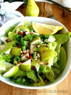 Healthy Pear Almond Salad