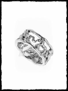 Ezüst hullámos gyűrű Horse Ring, Silver Horse, Class Ring, Rings For Men, Wedding Rings, Engagement Rings, Jewelry, Jewellery Making, Men Rings