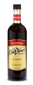 CLASSIC TIRAMISU SYRUP: Tiramisu, a popular Italian dessert, is made with yellow sponge cake soaked in chocolate and coffee liqueur and layered with cream. made with pure cane sugar.