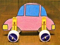 キミが描いた車が動き出す!