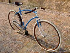 "Officine 99 - bici d'epoca, vintage e old style riconvertite in fixed e single speed: Birthing: Aerodyn Path Racer ""CrazyDiamond"" (CONTROPEDALE)"
