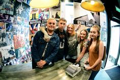 Slaves and fans at the meet and greet in our Dr. Martens Derby store. Photographed by Mark Richards.