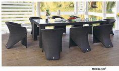 restaurant dinging rattan set www.facebook.com/pages/Foshan-Fantastic-Furniture-CoLtd                                                         www.ftc-furniture.com