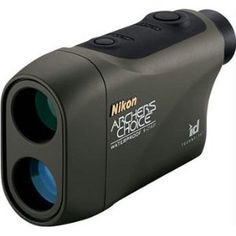 Nikon Archer's Choice Rangefinder w/ID Technology 100 Max yds Black A range finder designed from the ground up for the archer. Features Nikons 'ID technology' that gives you accurate readings whether shooting. Golf Range Finders, Camo, Mens Gear, Nikon Coolpix, Binoculars, Technology, Ebay, Bow Hunting, Hunting Gifts
