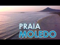 Moledo Beach - Caminha - Aerial view - YouTube