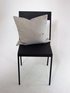 Grey+Linen+slouch+cushion, £10.00