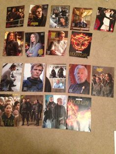Just sorting through my posters. Time went by so fast! Mockingjay Part 1 was like just out in theatres and now we have 1 WEEK LEFT FOR PART 2!?! I'm all ready tho...well kinda. Still gonna cry my eyes out :(