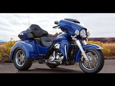 In-Depth review and Information about the New 2017 Tri-Glide Harley-Davidson. Matt Laidlaw provides a walk-around description of the features on typically the Trike and G... #harleydavidsonbaggercaferacers #harleydavidsonsoftailstandard #harleydavidsonstreetglidered #harleydavidsonsportsterroadster #harleydavidsonroadkingcustom #harleydavidsonbaggerforsale American Motorcycles, Old Motorcycles, Harley Davidson Street Glide, Harley Davidson Motorcycles, Harley Davidson Pictures, Motorcycle Exhaust, Night Train, Old Bikes, Journey