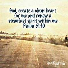 This psalm comes from King David's broken spirit. He was confronted with the sin in his life and cried out to God in repetence. He acknowledged his sin and need for God to cleanse him from it. Unfortunately, David's sin created consequences, but when confessed and forgiven He was restored a right relationship with God.   Only God can cleanse our hearts and release us from sin. Let us confess our sin to God to restore a right relationship with Him today. #aroyaltribe