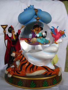 Disney Store Aladdin Snowglobe (Euro)