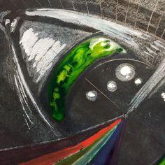 Watching paint dry. #sketchbook